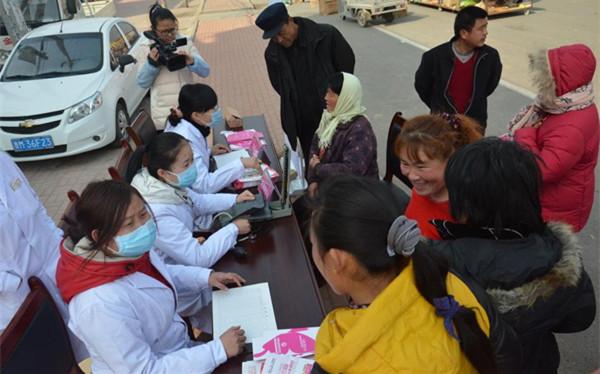 县卫生通过短信平台,提醒居民注重流感来袭